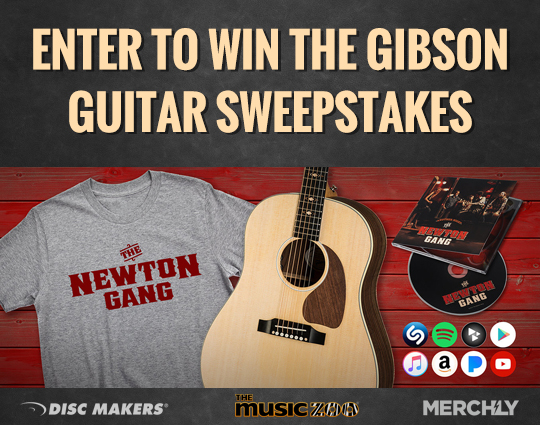 Enter to win the Gibson Guitar Sweepstakes