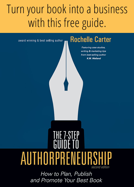 Turn your book into a business with this free guide. The 7-Step Guide to Authorpreneurship.