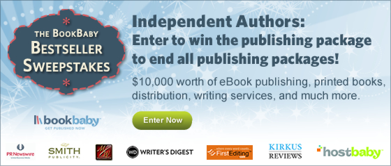 Independent Authors: Enter to win the publishing package to end all publishing packages!