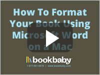 How To Format Your Book Using Microsoft Word on a Mac