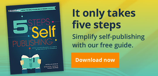 It only takes five steps Simplify self-publishing with our free guide.