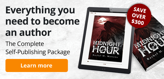 Everything you need to become an author. The Complete Self-Publishing Package. Save over $300 with this package.