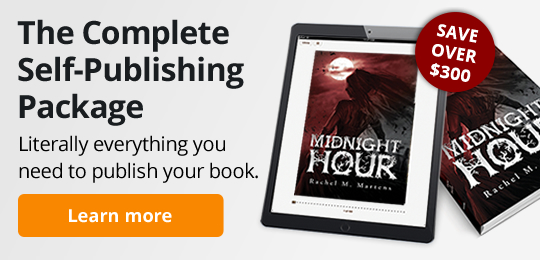 The Complete Self-Publishing Package. Literally everything you need to publish your book.
