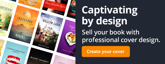 Captivating by design. Sell your book with professional cover design.
