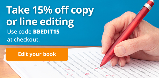 Take 15% off copy or line editing. Use code BBEDIT15 at checkout.
