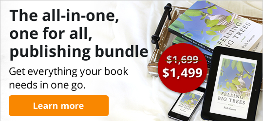The all-in-one, one for all, publishing bundle. Get everything your book needs in one go.