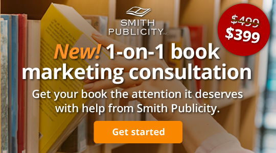 New! 1-on-1 book marketing consultation. Get your book the attention it deserves with help from Smith Publicity.