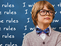What writing rules do you live by (and which ones do you break)?