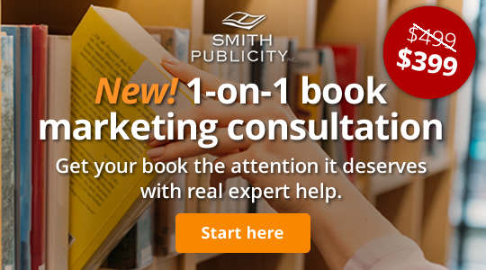 New! 1-on-1 book marketing consultation. Get your book the attention it deserves with real expert help.