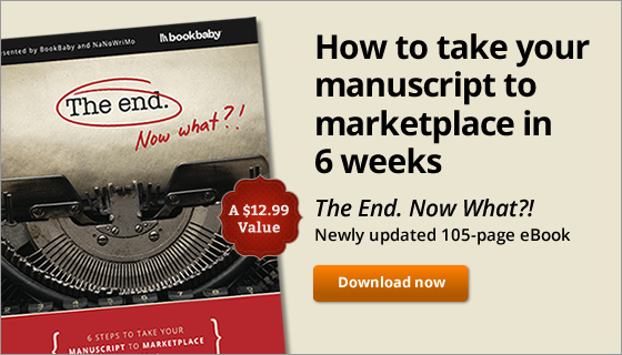 How to take your manuscript to marketplace in 6 weeks. The End. Now What?! Newly updated 105-page eBook