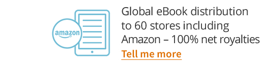 Global eBook distribution to 60 stores including Amazon - 0% commission charged