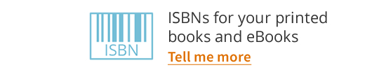 ISBNs for your printed books and eBooks