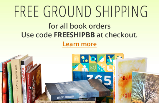 Free ground shipping for all book orders. Use code FREESHIPBB at checkout.