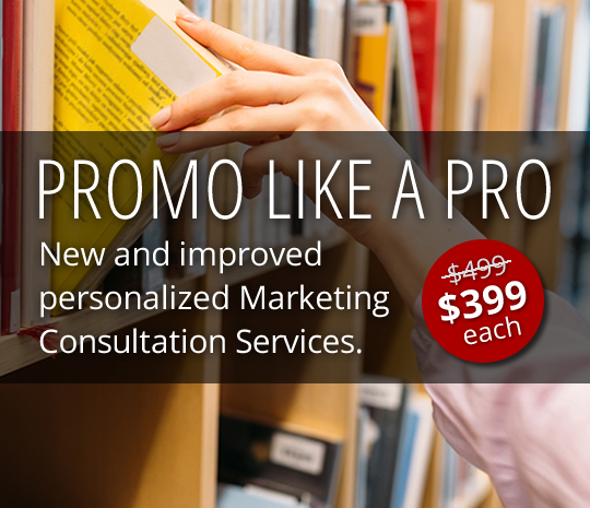 Promo like a pro: new and improved Marketing Consultation Services.