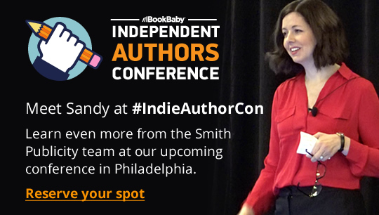 Meet Sandy at #IndieAuthorCon