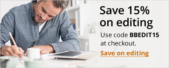 Save 15% on editing. Use code BBEDIT15 at checkout.