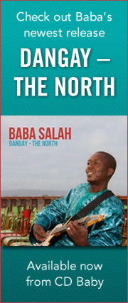 "Check out Baba's newest release, ""Dangay — The North"", available now from CD Baby:"