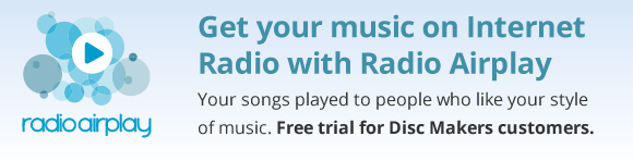 Get your music on Internet Radio with Radio Airplay