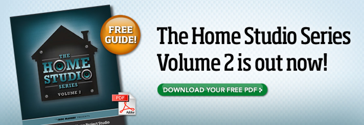 The Home Studio Series Volume 2 is out now!