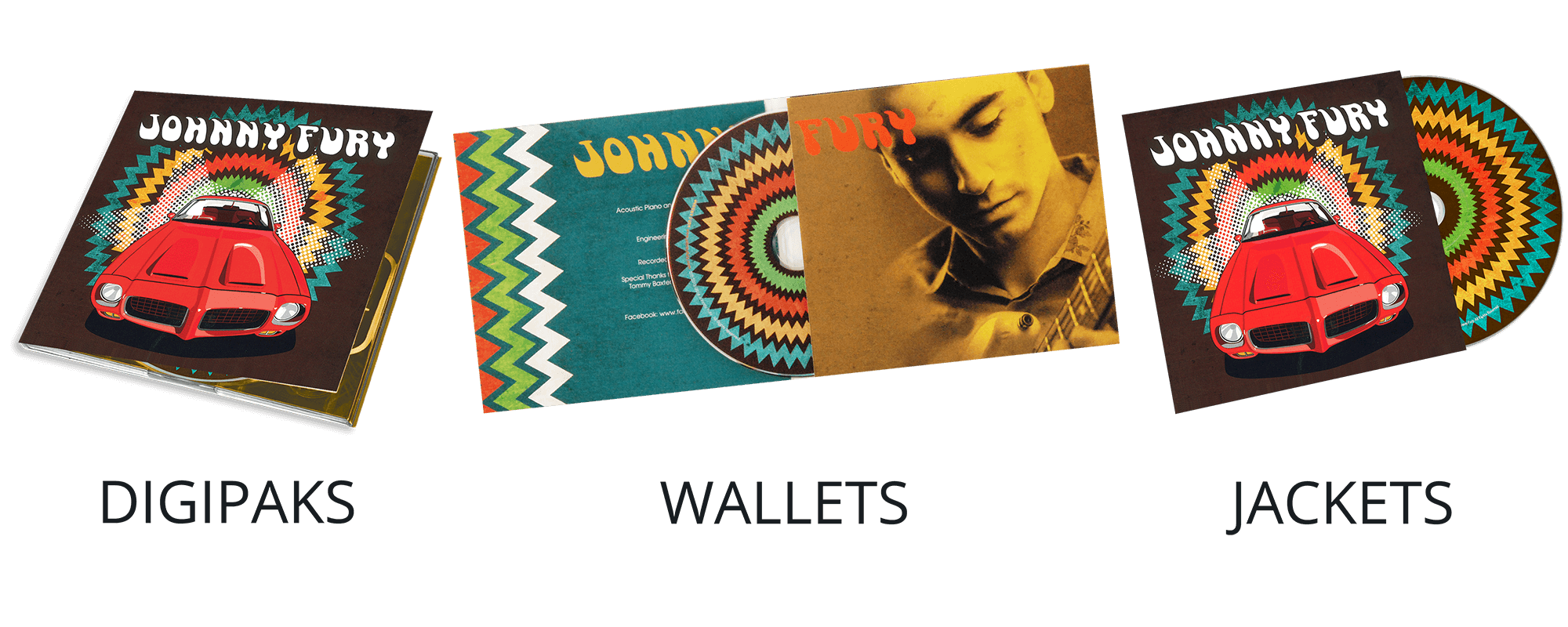 Digipaks Wallets Jackets