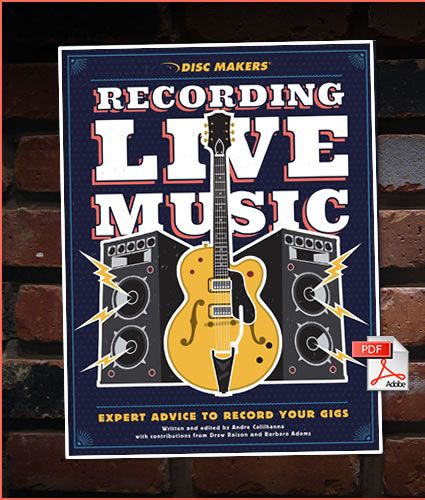Recording Live Music: Learn how to properly record your music for fans, future projects, and personal critique.