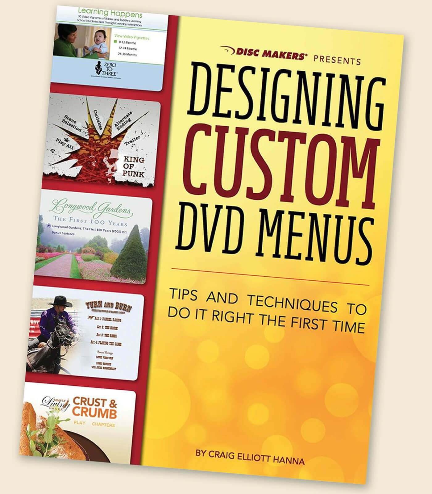 Design your own DVD menu