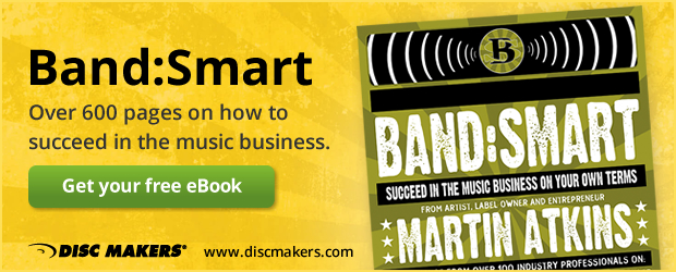 Band:Smart. Over 600 pages on how to succeed in the music business.