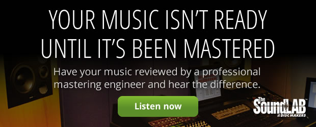 Your music isn't ready until it's been mastered