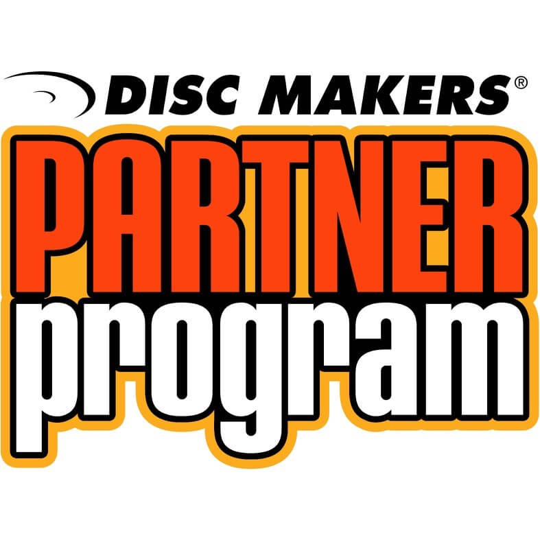 Sign-up for Disc Makers' Partner Program