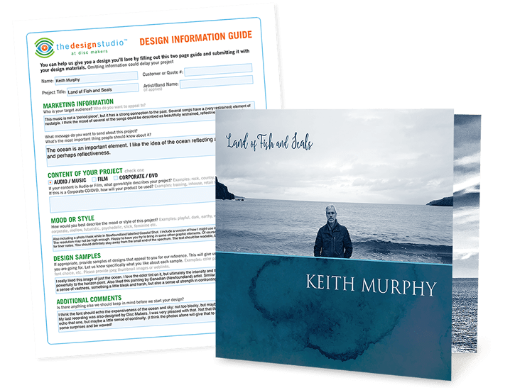 Keith Murphy – Land of Fish and Seals custom design artwork