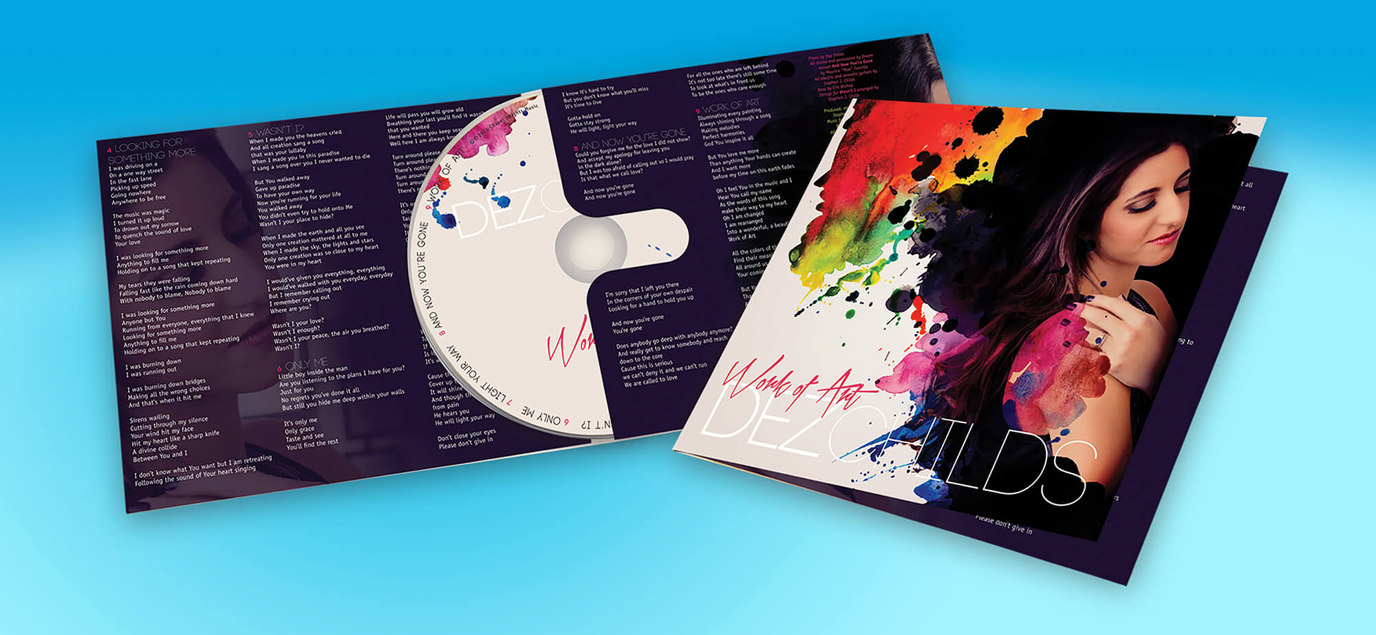 Get personalized CD design at The Design Studio at Disc Makers