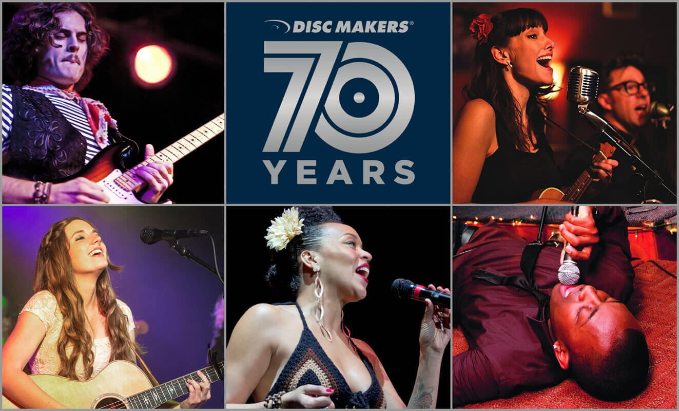 Disc Makers' 70th anniversary