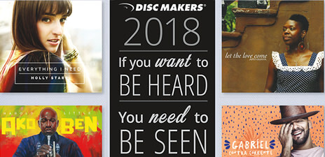 New! The Disc Makers 2018 Catalog