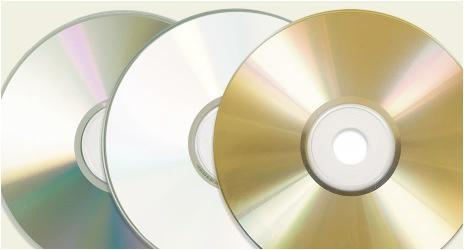 Blank DVD-Rs