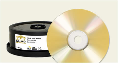 CD-R Falcon 24K Gold Archival
