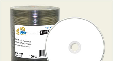 photograph regarding Printable Blank Cds called Blank CD-R Blank Discs Falcon Media Taiyo Yuden CD-R