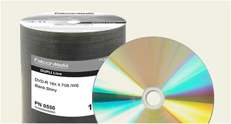 Falcon 16x Silver DVD-Rs