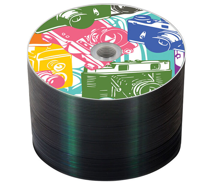 100 full-color CDs with content for $92