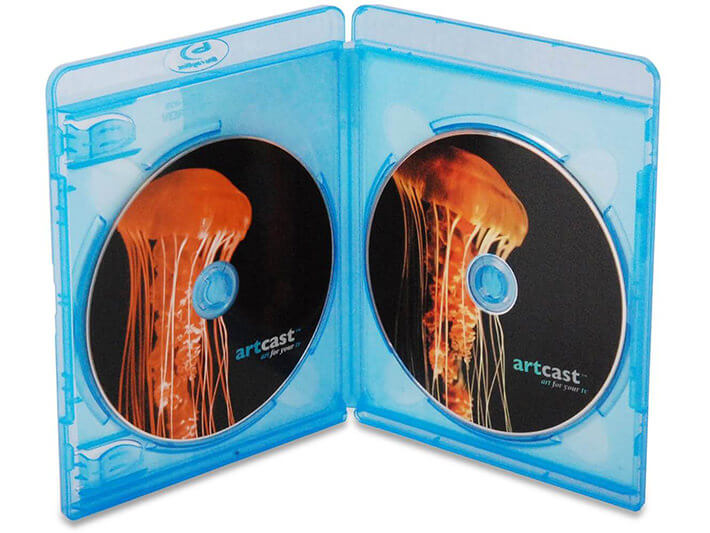 Multi-disc Blu-ray case