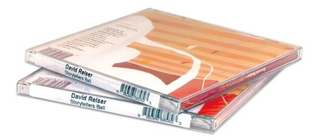 CD spine labels