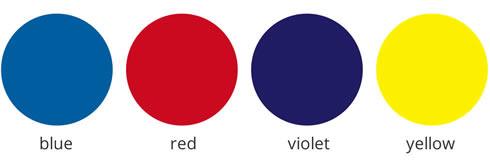 Custom opaque vinyl color options