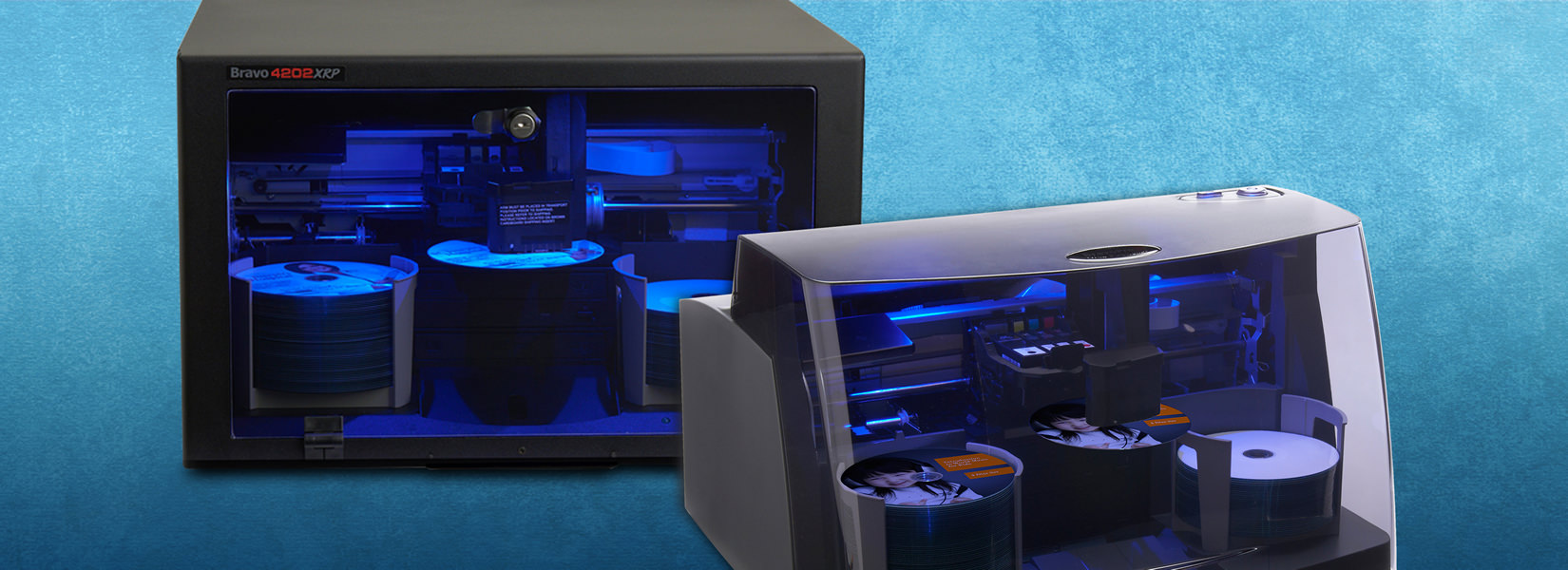 Automated Blu-ray Duplicators