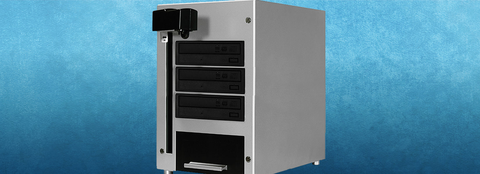 Automated 1 to 3 CD/DVD Duplicator