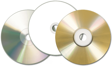 Blank CDs and DVDs