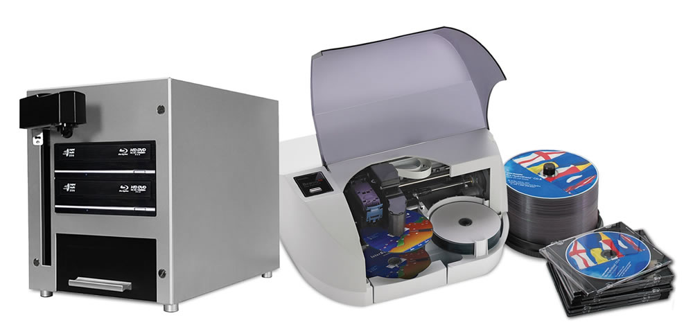 Custom CD/DVD Duplicator Bundle