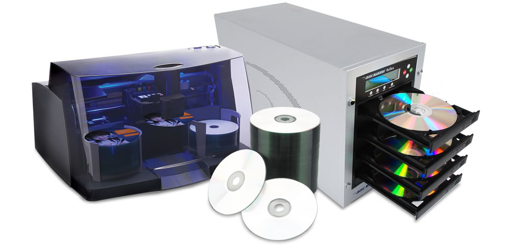 CD/DVD Duplicator and Disc Printer