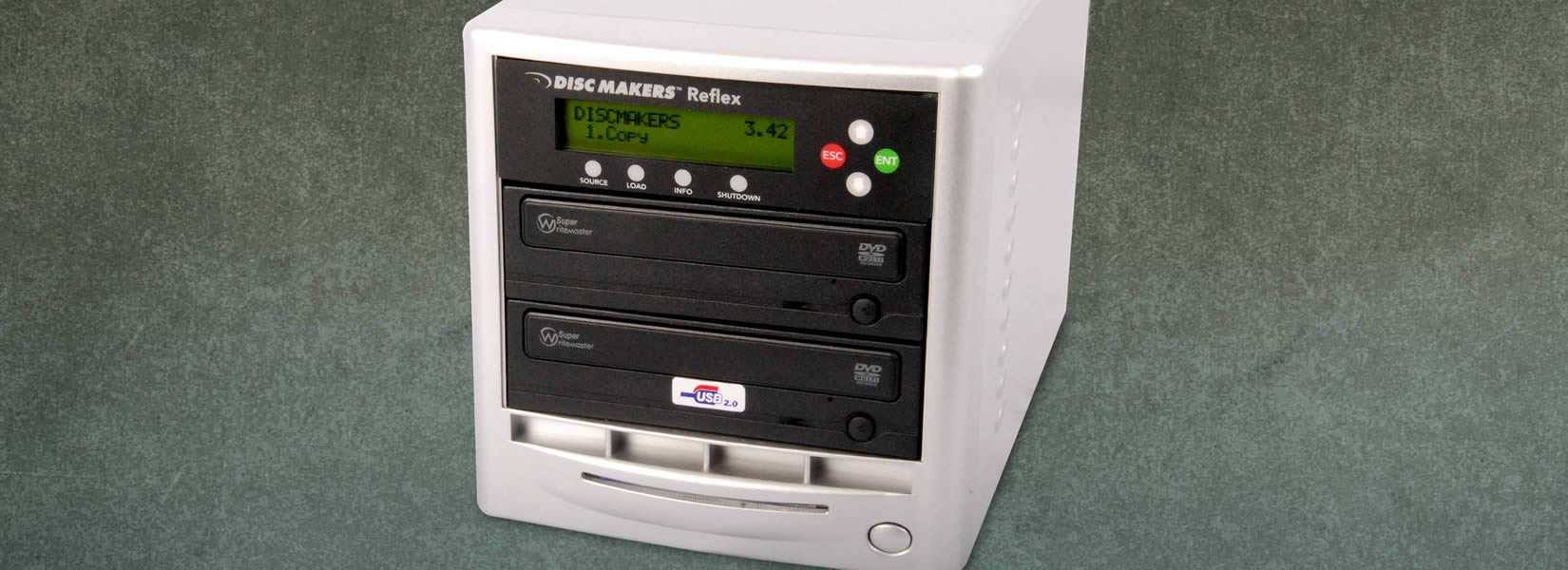 1 to 1 DVD duplicator