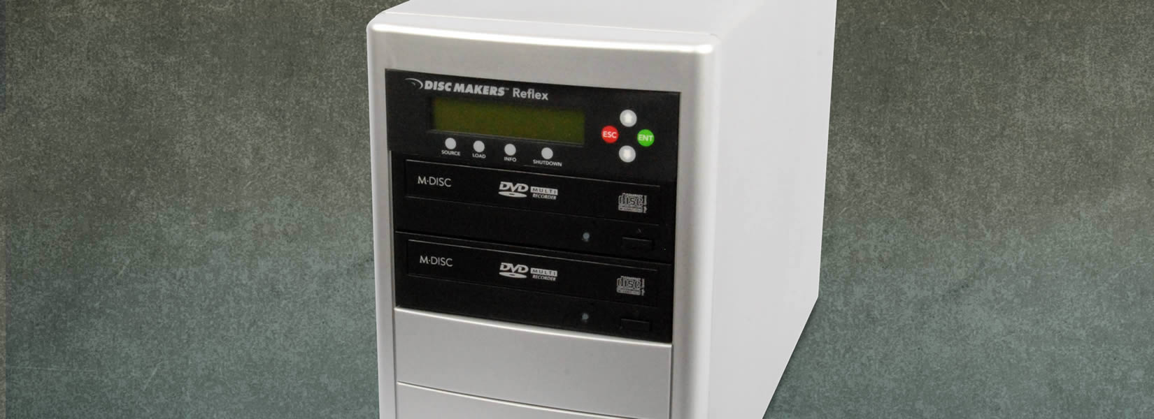 1 to 2 Target CD/DVD Duplicator