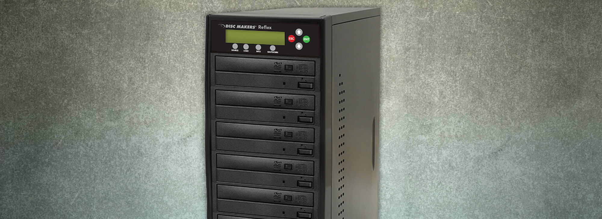 Network CD/DVD Duplicator