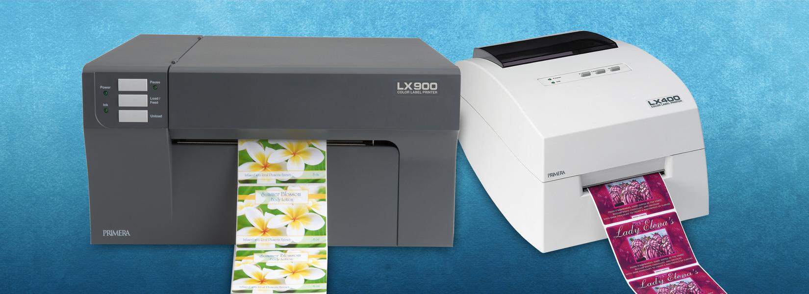 Color printer label - Label Printers
